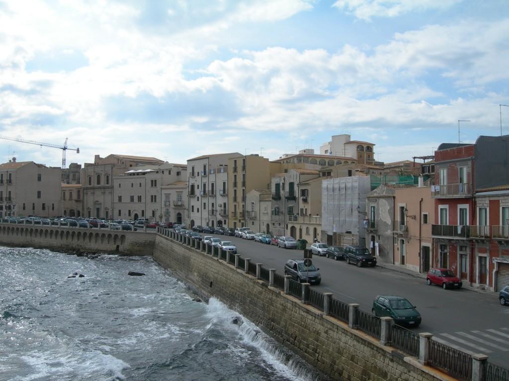 Östliche Promenade in Ortygia